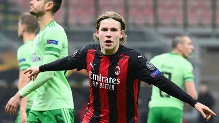 Petter Hauge 'Dilarang' Pergi dari AC Milan, Meski Jarang Dimainkan