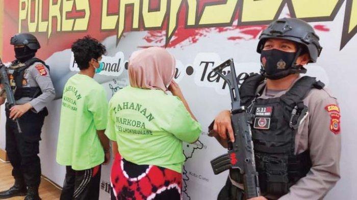 Edar Sabu Saat Hamil Tua, Wanita Aceh Utara Diciduk