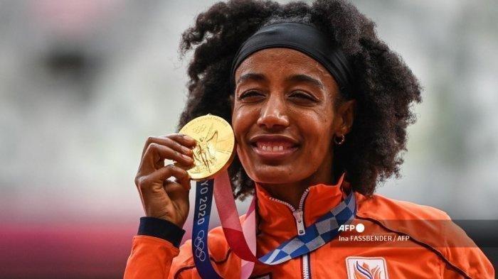 Sifan Hassan Atlet Belanda Menangi Medali Emas Olimpiade Tokyo, Sebut Minum Kopi Kunci Suksesnya