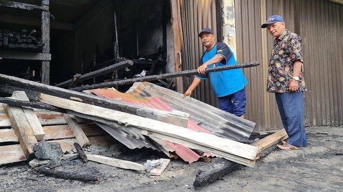 Barang Dagangan Warga Bandar Baru Ludes Terbakar, Kerugian Capai Rp 200 Juta