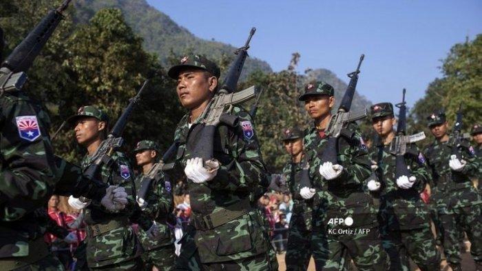 Bentrok antara Milisi dan Militer Myanmar Pecah Lagi, 20 Tewas