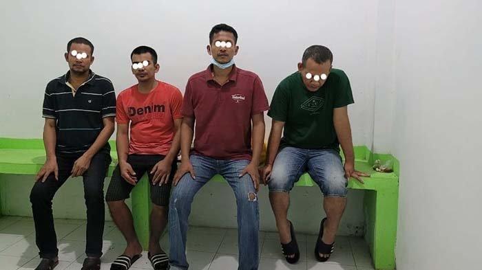 Tiga Warga Aceh Utara dan Satu Pria Medan Dibui 72 Tahun, Terbukti Selundupkan Ekstasi