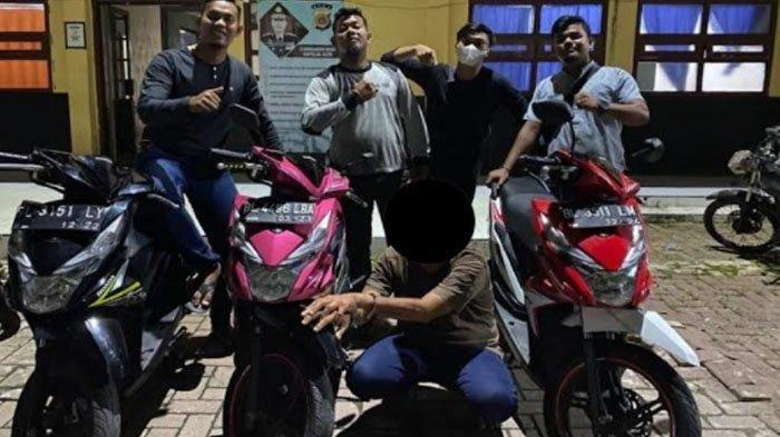 Baru Keluar Penjara, Residivis Kembali Ditangkap Curi Sepmor, Sebelumnya Curi Enam Mobil