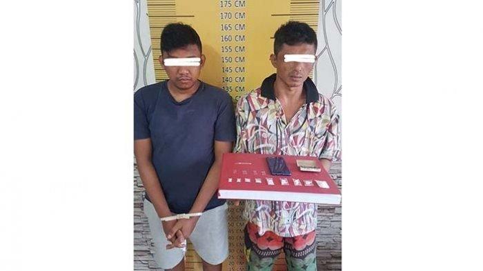 Polisi Langsa Ringkus Dua Pengedar Sabu