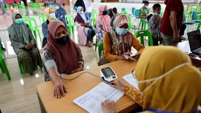 Masyarakat Aceh Antusias Ikut Vaksinasi Covid-19