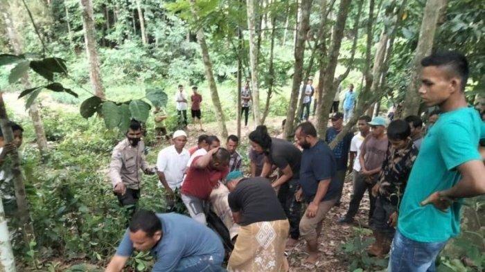 Abdullah Meninggal Terjatuh dari Pohon
