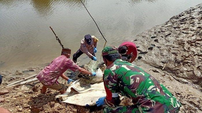 Mayat Ditemukan Dalam Karung di Tepi Sungai di Aceh Timur