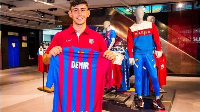 Yusuf Demir, Debutan Barcelona Setara Messi