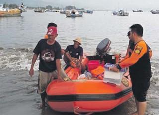 Lima Hari Terkatung-katung di Laut, Dua Nelayan Abdya Berhasil Diselamatkan