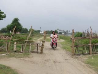 Jalan Padang Seurahet  Masih Dipagar