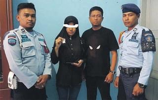 Istri Ditangkap karena Pasok Sabu ke Rutan