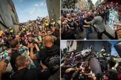 Bentrok, Kelompok AntiIslam dan Kaum Kiri di Australia