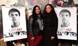 Dua Putri Petinju Muhammad Ali Promosikan Film Dokumenter