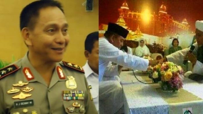 Peluk Islam, Kapolda Bali Langsung Ajak Keluarga Umrah