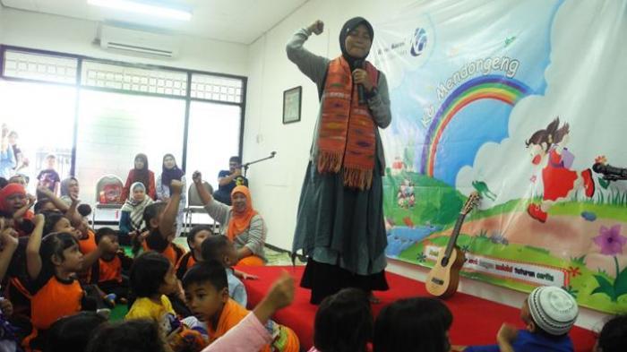 Mendongeng Melatih Kecerdasan Anak