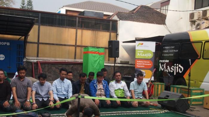 Mobile Masjid Untuk Mudahkan Muslim Jalankan Shalat