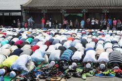 Muslim Beijing Rayakan Idul Fitri di Masjid Peninggalan Sultan
