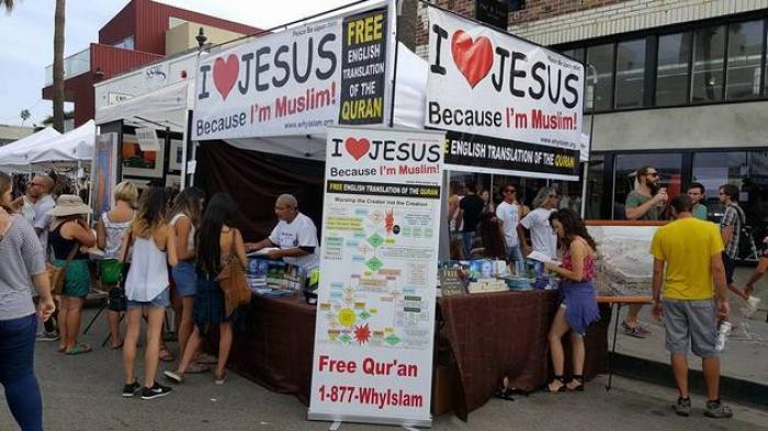 I Love Jesus, Because I'm Muslim