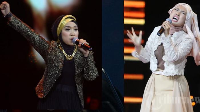 Gaya Rock Syariah dalam Busana Sarah Idol