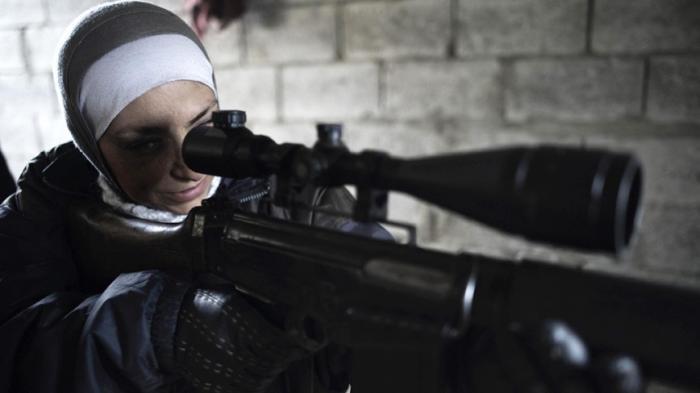 Inilah Unit Khusus Sniper Mujahidah Suriah