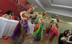 Topeng Raksasa Siap Meriahkan Pawai Karnaval Budaya