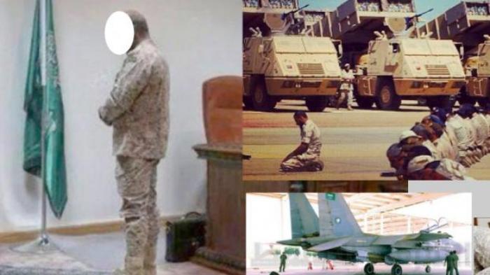 Tentara Saudi Shalat Bersepatu, Bolehkah?