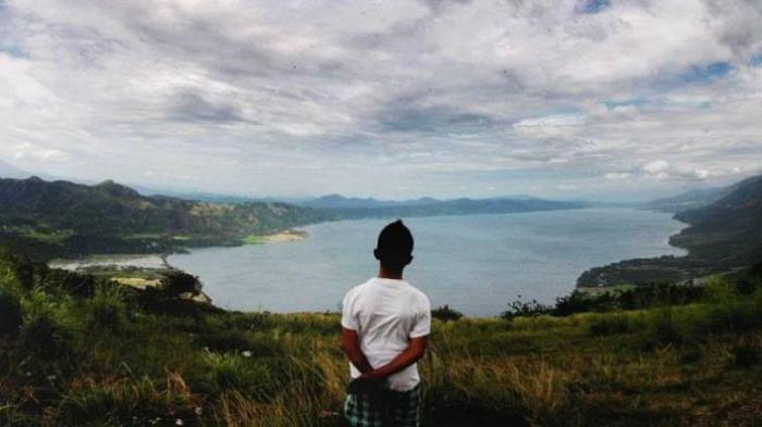Tradisi Balimau di danau Singkarak