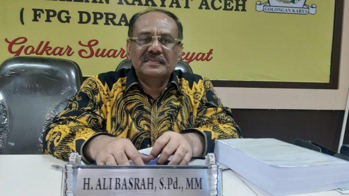 Ali Basrah Spd MM, Politisi Golkar, mantan Wakil Bupati Agara, dan Kini Anggota DPR Aceh