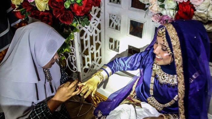 Mengenal Tradisi Malam Boh Gaca Pada Acara Pernikahan di Aceh