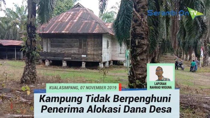 Fakta Unik Desa Alurjambu di Aceh Tamiang, Ditinggal Pergi Warga karena Dihantui Mahluk Astral