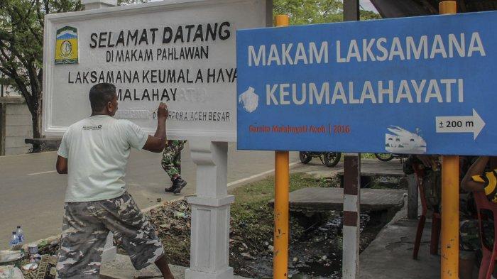 Berziarah ke Makam Pahlawan Nasional Laksamana Malahayati di Bukit Lamreh Aceh Besar