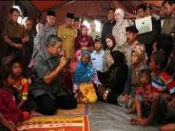 Presiden ke-6, Susilo Bambang Yudhoyono (SBY) mengunjungi Tanah Gayo