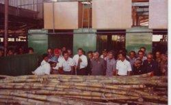 Pak Harto Resmikan Pabrik Gula Mini Belang Mancung Aceh Tengah (foto HM Kasim Amin)