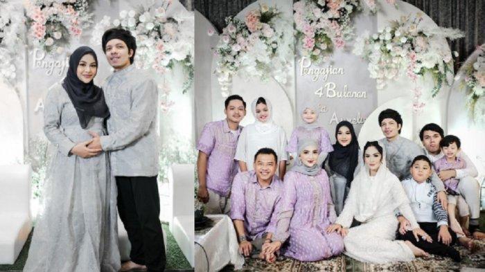 Foto-foto Tasyakuran 4 Bulanan Kehamilan Aurel Hermansyah, Atta Halilintar Dipuji Satukan Keluarga
