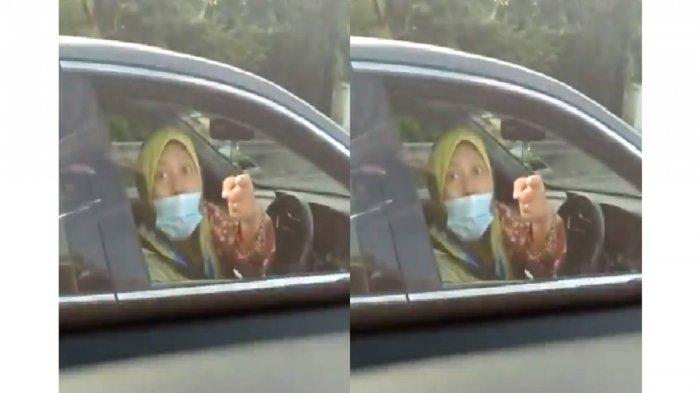 Ibu Dosen Akhirnya Diperiksa Polisi Setelah Videonya Marah-marah saat Putar Balik Sembarangan Viral