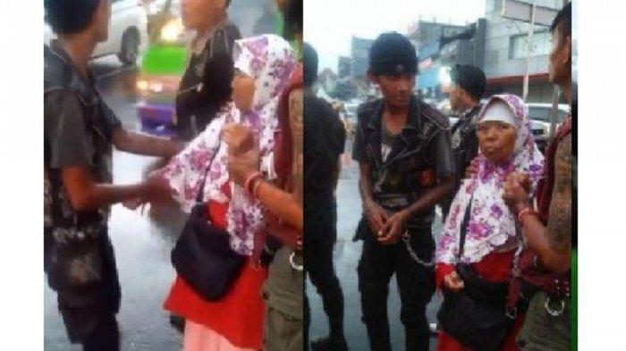 Video Anak Punk Bertato Bantu Ibu-ibu Jatuh dari Angkot Viral, Pengunggah Tuliskan Pesan Ini