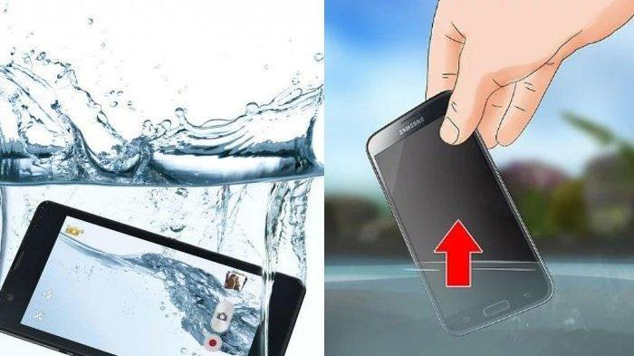 Cara Menyelamatkan HP yang Tercebur di Air dengan Tepat, Lakukan 6 Tips Berikut Ini