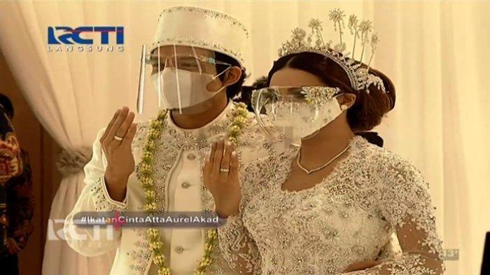 Resmi Jadi Suami Istri, Ini 6 Momen Pernikahan Aurel Hermansyah dan Atta Halilintar