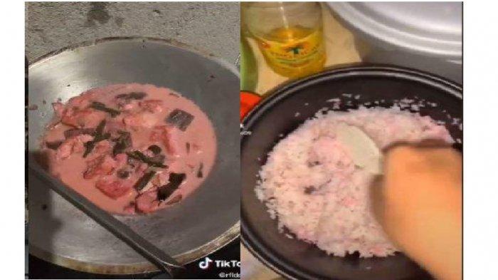 Cerita Dibalik Viral Masakan Serba Pink, Ternyata Ulah Sang Nenek Salah Masukkin Pasta Stoberi