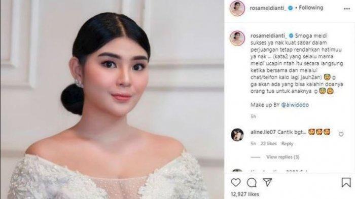 Penampilan Rosa Meldianti Berubah Drastis, Wajah Keponakan Dewi Perssik Disorot, Bikin Pangling
