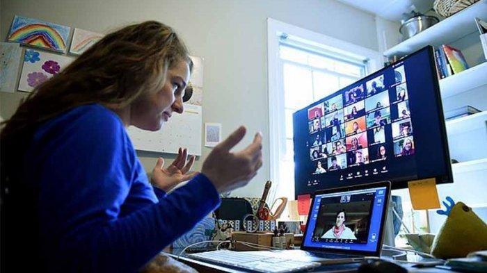 Viral Murid Ganti Nama 'Reconnecting' Selama Zoom Karena Jenuh Belajar Online, Aksinya Disorot