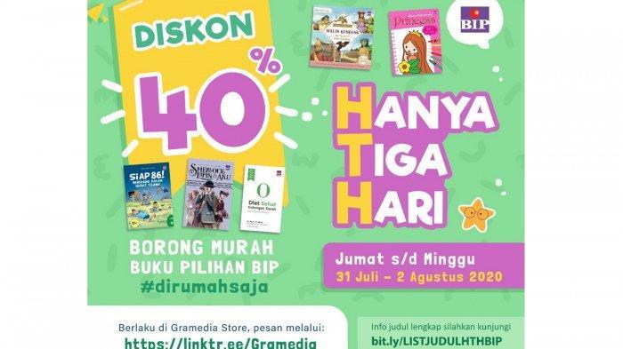 Spesial Idul Adha, Gramedia Berikan Diskon 40% untuk Pembelian Buku dari Penerbit Ini, Hanya 3 Hari!
