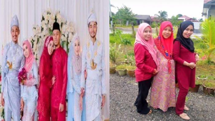 Viral Kisah Keluarga Terlalu Kompak, 3 Kakak Beradik Menikah hingga Melahirkan Selalu Bersamaan