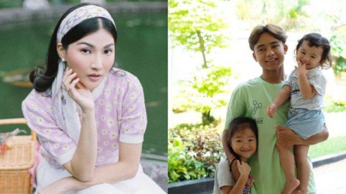 Temani Betrand Peto dan Thalia Putri Onsu Sekolah Online, Penampilan Sarwendah Jadi Sorotan