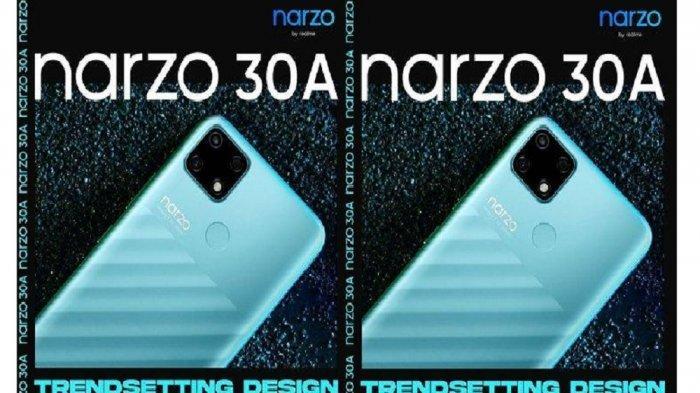 Bocoran Harga dan Spesifikasi Realme Narzo 30A, Dibekali Baterai 6000 mAh