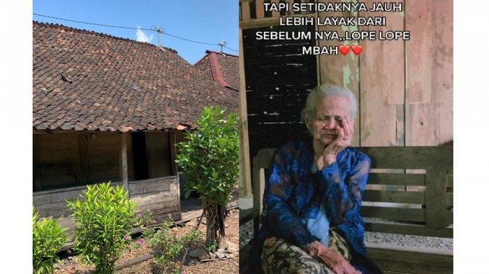 Viral Pemuda Renovasi Rumah Nenek, Sebut Genteng Bocor hingga Kayu Lapuk Semua, Begini Kisahnya