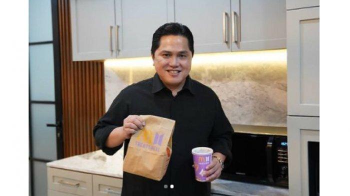 Cerita Menteri BUMN Erick Thohir Ikut Berburu BTS Meal: Cajun Saucenya Favorite Saya