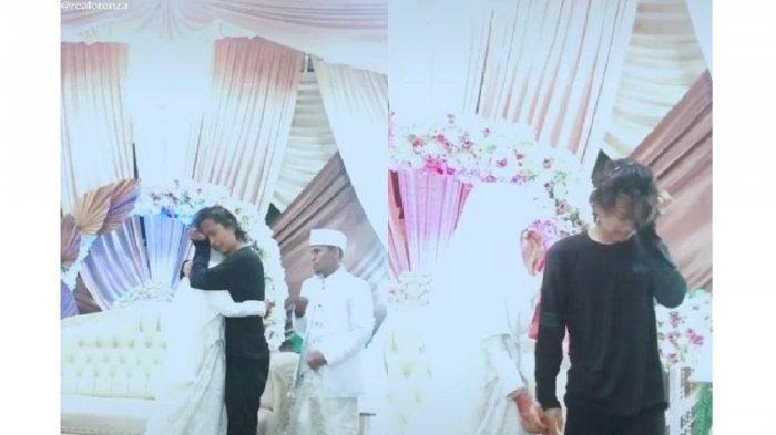 Viral Pemuda Nangis saat Melepas Kakak Perempuan Menikah, Ternyata Begini Kisah di Baliknya