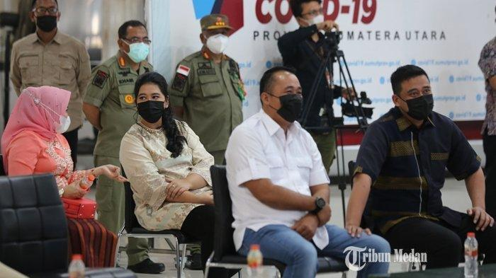 Segera Dilantik Jadi Wali Kota Medan, Bobby Nasution Hadiri Gladi Bersih Didampingi Kahiyang Ayu