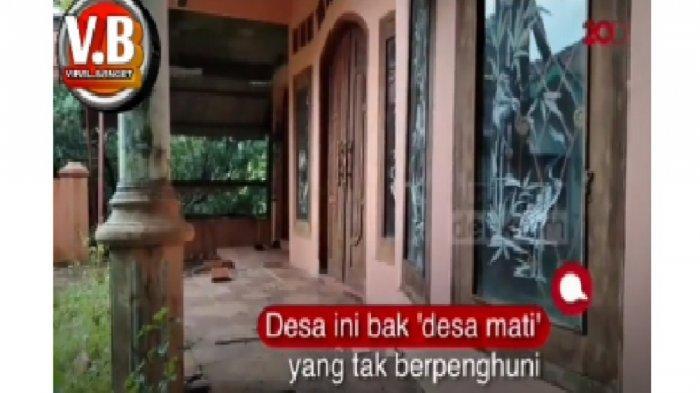 Video Desa di Majalengka Terbengkalai dan Ditinggal Warga Viral, Suasananya Bikin Merinding